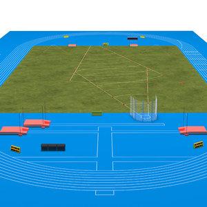 field track sport model