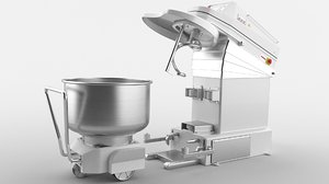mixer machinery planetary 3D model