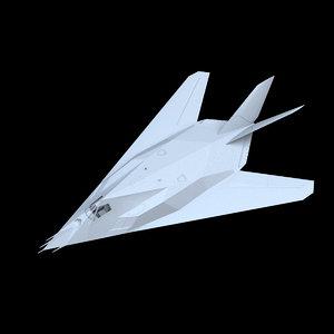 lockheed f-117a nighthawk aircraft model