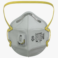 N95 Flat Fold Respirator Mask
