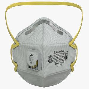 3D n95 flat fold respirator