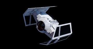 tie advanced x1 3D model
