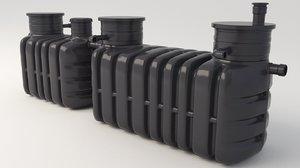 3D sewage plant treatment