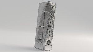 speakers component 3D model