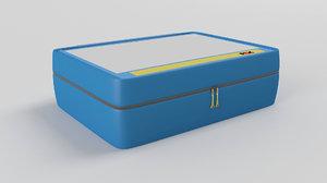 3D pax ampoule holder xl model