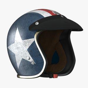 vintage helmet 3D model