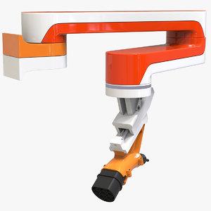 3D charger robot