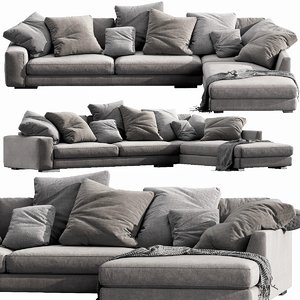 verzelloni holden sectional 3D