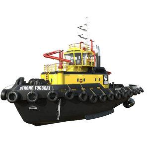 harbour tug model