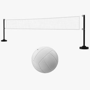 3D volleyball net ball