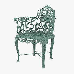 antique vintage victorian cast iron model