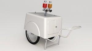 retro soda water machine model