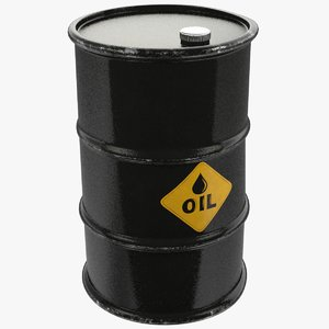 3D oil barrel