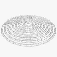 Circle Triangular Truss Modular Collection - 10 PCS Modular