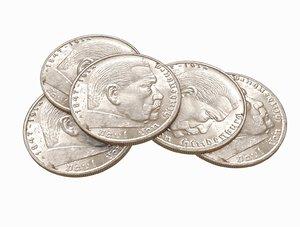 3D germany reich 5 reichsmark