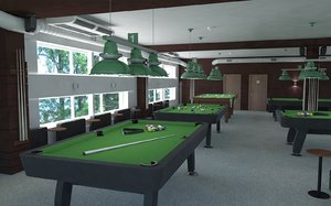 billiards model