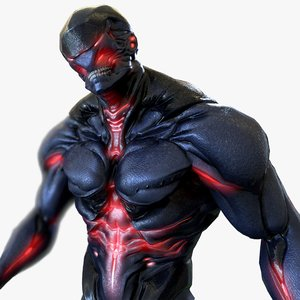 3D heavy bio mutant model