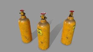 oxygen tank model