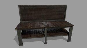 3D workbench bench