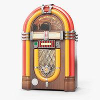 One More Time Wurlitzer Juke Box [LOW POLY]