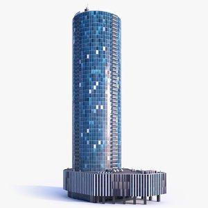 3D model skyscraper building 13
