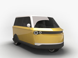 3D future rickshaw alternative model