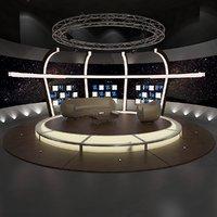 TV Studio Chat Set 20