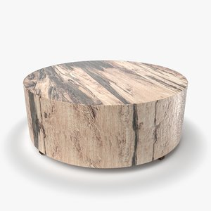 dillon spalted primavera wood 3D model