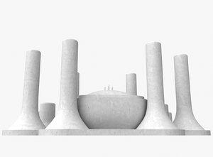 3D model bleach las noches
