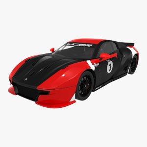 3D ligier js2 r zosh model