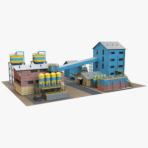 3D industrial site 1
