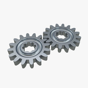 gear industrial tool 3D model