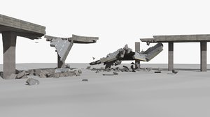 bridge collapse 2 animations model