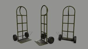 3D trolley model