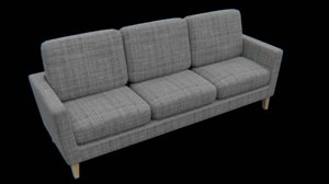 3D furniture sofa furnishing