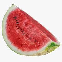 Watermelon Quarter Cut 01