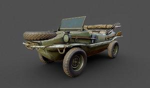 3D schwimmwagen typ 166