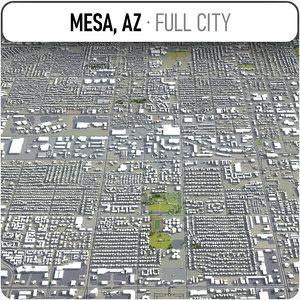 mesa surrounding - model