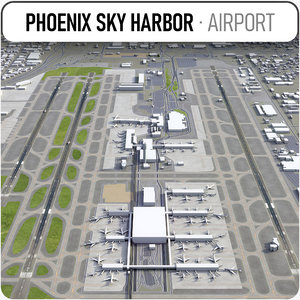 phoenix sky harbor international 3D