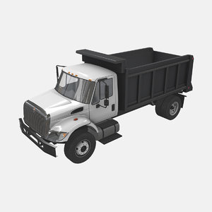 navistar international 7400 dump truck model