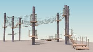 3D model adventure park