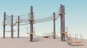 adjustable adventure park 3D model