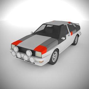 3D polycar n76 lp1 cars model