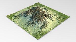 3D terrain maps