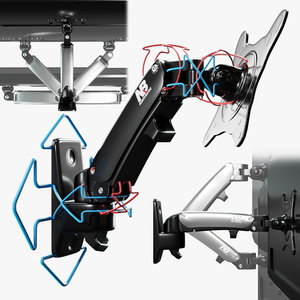 mount tv 3D model