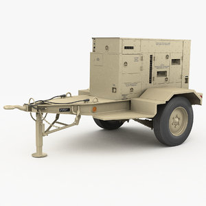 60kw generator 3D model