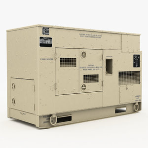 3D 60kw generator