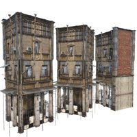 Photorealistic European Buildings 07