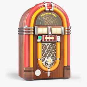 time wurlitzer juke box 3D model