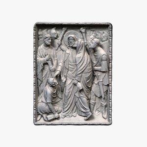religious relief 3D model